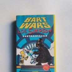 Series de TV: BART WARS LOS SIMPSON CONTRAATACAN VHS. Lote 292037268