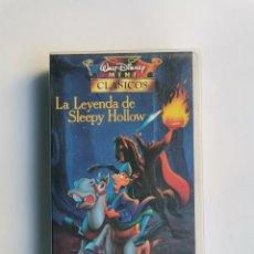 Series de TV: LA LEYENDA DE SLEEPY HOLLOW MINI CLÁSICOS DISNEY VHS. Lote 292037953