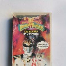 Series de TV: POWER RANGERS LUZ BLANCA ( 1 Y 2 PARTE) VHS. Lote 292038528