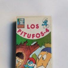 Series de TV: LOS PITUFOS 4 VHS. Lote 292038713