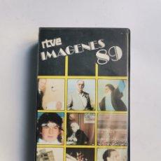 Series de TV: IMÁGENES 89 RTVE VHS. Lote 292040048