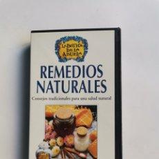Series de TV: LA BOTIGA DE LA ABUELA REMEDIOS NATURALES VHS RBA INTEGRAL. Lote 292040123