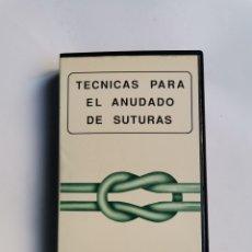 Series de TV: TÉCNICAS PARA EL ANUDADO DE SUTURAS VHS B. BRAUN DEXON. Lote 292040248