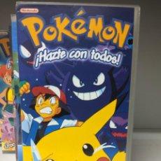 Series de TV: POKEMON HAZTE CON TODOS COMPETICIÓN DE DESCARGA ELÉCTRICA CINTA VHS. Lote 293674523