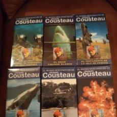 Series de TV: JACQUES COUSTEAU. Lote 295366103