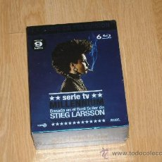 Series de TV: SERIE MILLENNIUM COMPLETA 6 BLU RAY DISC NUEVA PRECINTADA. Lote 204987762