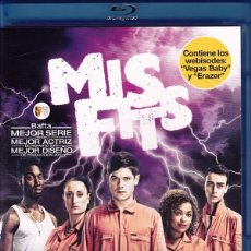 Series de TV: MISFITS - TERCERA TEMPORADA (BLU-RAY). Lote 143253097