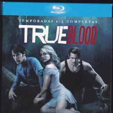 Series de TV: TRUE BLOOD - TEMPORADAS 1-3 COMPLETAS EN BLU RAY. 36 EPISODIOS.. Lote 53322521