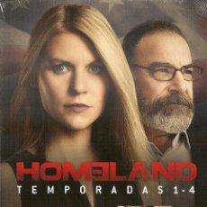 Series de TV: HOMELAND. TEMPORADAS 1-4. BLU RAY. PRECINTADO. NUEVO. SERIE TV.. Lote 53502287