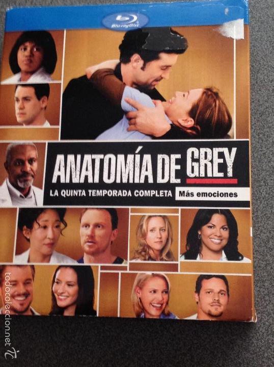 anatomía de grey. temporada 5 completa. 7 disco - Comprar Series de ...