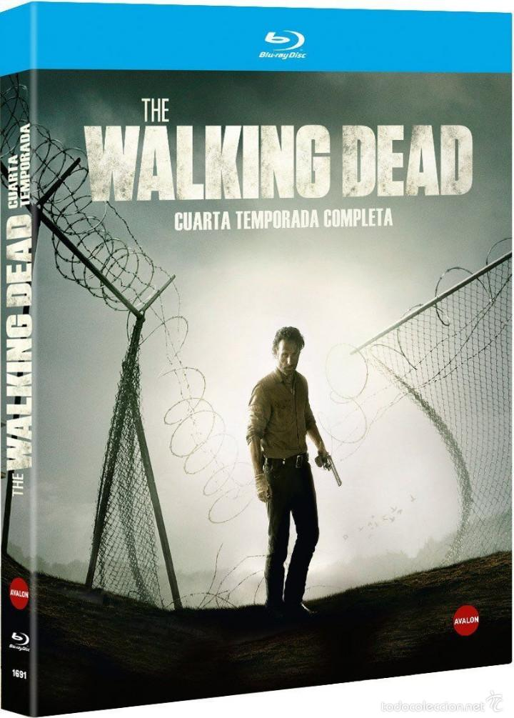 the walking dead !!! 4ª temporada blu-ray p - Comprar Series de TV ...