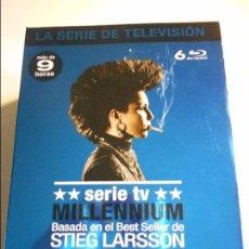 Series de TV: MILLENNIUM. SERIE TV. BASADA EN EL BEST SELLER DE STIEG LARSSON 6 BLURAYS CON MAS DE 9 HORAS. TODO L. Lote 70129861