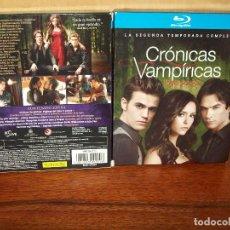 Series de TV: PACK CRONICAS VAMPIRICAS - SEGUNDA TEMPORADA COMPLETA EN BLU-RAY - 4 BLU-RAYS. Lote 142844617
