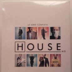 Series de TV: HOUSE MD DOCTOR SERIE COMPLETA 8 TEMPORADAS BLURAY BLU-RAY NUEVO TV HUGH LAURIE. Lote 91847790