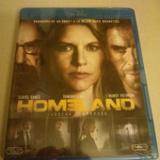 Series de TV: HOMELAND 3ª TERCERA TEMPORADA SERIE TV CLAIRE DANES BLURAY BLU-RAY NUEVO. Lote 96072499