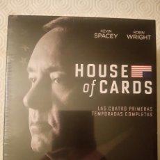 Series de TV: HOUSE OF CARDS (TEMPORADAS 1, 2, 3, 4) (16 DISCOS BLURAY). Lote 101565611