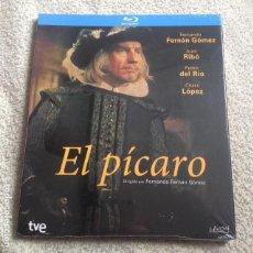 Series de TV: EL PÍCARO BLU-RAY **SERIE COMPLETA 2 DISCOS** CON FERNANDO FERNÁN GÓMEZ Y CHARO LÓPEZ. Lote 143676053
