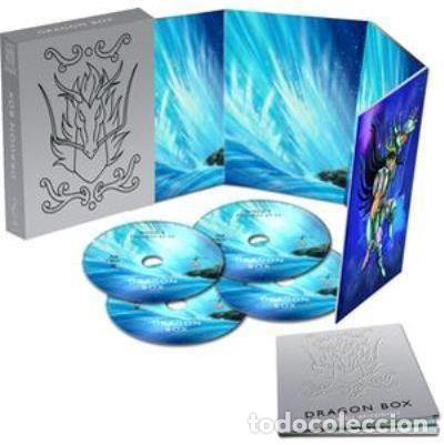 SAINT SEIYA (LOS CABALLEROS DEL ZODIACO) - DRAGON BOX (BLU-RAY) (Series TV en Blu -Ray )