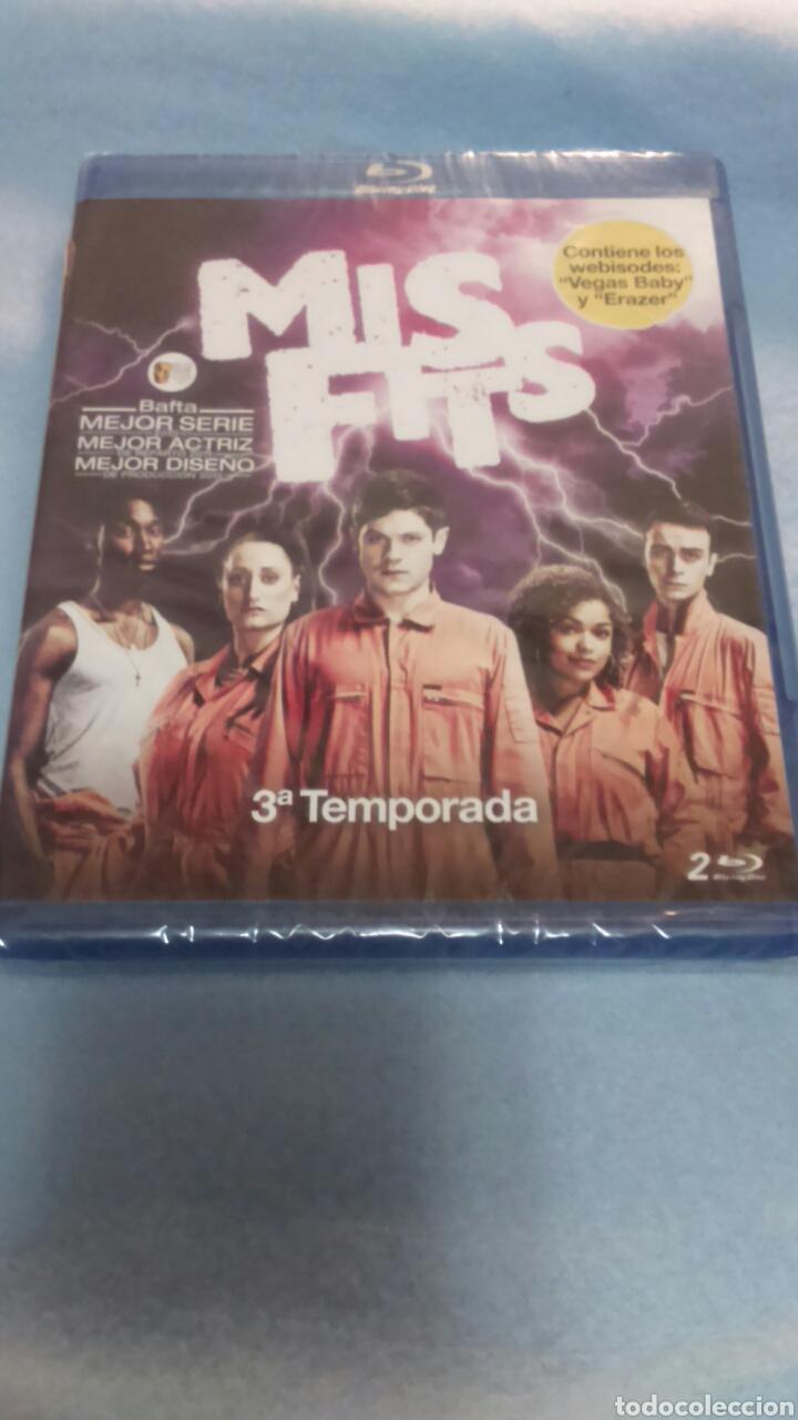 BLURAY. MISFITS. TEMPORADA 3. PRECINTADA. (Series TV en Blu -Ray )