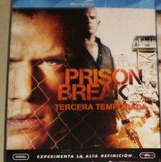 Series de TV: PRISON BREAK T3 BLU RAY COMO NUEVO ESPAÑOLA DESCATALOGADA. Lote 107060371
