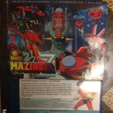 Series de TV: MAZINGER Z BOX 2 - EPISODIOS 12-22 EDICION RESTAURADA BLURAY. Lote 117247887