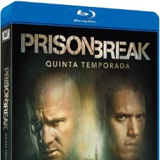 Series de TV: PRISON BREAK TEMPORADA 5 QUINTA COMPLETA BLU-RAY BLURAY WENTWORTH MILLER. Lote 121078343