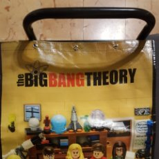 Series de TV: BOLSA - BIG BANG THEORY - LEGO - WARNER BROS - PROMO SWAG BAG PROMOCIONAL. Lote 124276926