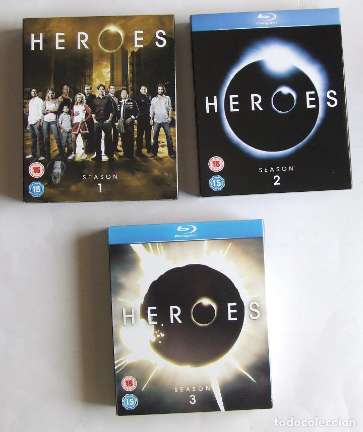 Series de TV: BLU-RAY SERIE HEROES TEMPORADAS COMPLETAS 1 2 Y 3 ESTADO IMPECABLE - Foto 4 - 132065030