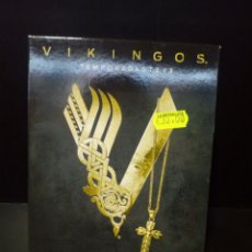 Series de TV: VIKINGOS (TEMPORADAS 1 2 Y 3) BLURAY. Lote 136553658