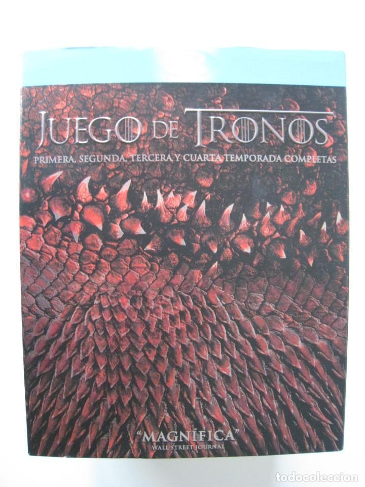 BLU-RAY - JUEGO DE TRONOS - 1, 2 , 3 , 4, TEMPORADAS COMPLETAS.