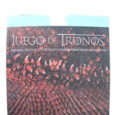 Series de TV: BLU-RAY - JUEGO DE TRONOS - 1, 2 , 3 , 4, TEMPORADAS COMPLETAS.. Lote 136759498