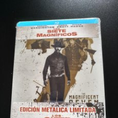 Series de TV: LOS SIETE MAGNÍFICOS - BLU-RAY - STEELBOOK - DENZEL WASHINGTON - CHRIS PRATT. Lote 142293082