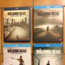 Series de TV: THE WALKING DEAD TEMPORADA 1 2 3 Y 4 COMPLETA BLURAY BLU-RAY. Lote 144743822
