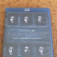 Series de TV: JUEGO DE TRONOS TEMPORADA 6 BLU RAY. Lote 146536880