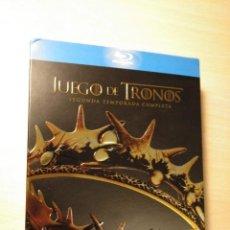 Series de TV: HBO JUEGO DE TRONOS TEMPORADA 2 COMPLETA BLUERAY. Lote 147794158
