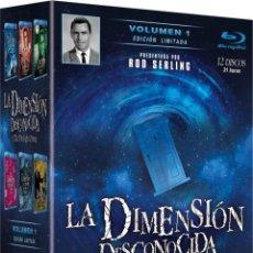 Series de TV: PACK LA DIMENSIÓN DESCONOCIDA VOL.1 (THE TWILIGHT ZONE) - EDICIÓN LIMITADA (BLU-RAY). Lote 150864802