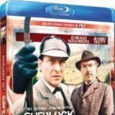 Series de TV: SHERLOCK HOLMES - LAS AVENTURAS (BLU-RAY). Lote 150865106