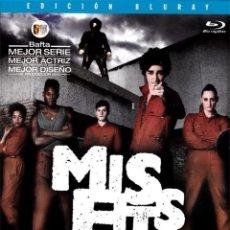 Series de TV: MISFITS - SEGUNDA TEMPORADA (BLU-RAY). Lote 150865114