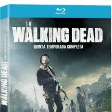 Series de TV: !!! THE WALKING DEAD !!! 5ª TEMPORADA NUEVA PRECINTADA EN BLURAY ****. Lote 151205158