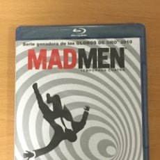 Series de TV: SERIE MAD MEN TEMPORADA 4 COMPLETA BLU RAY PRECINTADA. Lote 154830696