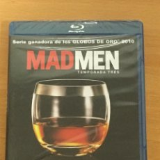 Series de TV: SERIE MAD MEN TEMPORADA 3 COMPLETA BLU RAY PRECINTADA. Lote 154830858
