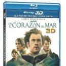 Series de TV: EN EL CORAZON DEL MAR - BLURAY 3D + BLURAY USADO SOLO UNA VEZ EL 3D ¡¡UNICO EN TODOCOLECCION!!. Lote 159421026