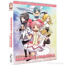 Series de TV: MADOKA MAGICA SERIE COMPLETA BLU-RAY - NUEVO. Lote 206390757