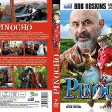 Series de TV: PINOCHO MINISERIE 2 DVDS NUEVO Y PRECINTADO DESCATALOGADO. Lote 175047403