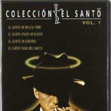 Series de TV: COLECCION EL SANTO RKO 4 DVDS NUEVO Y PRECINTADO DESCATALOGADO. Lote 175048925