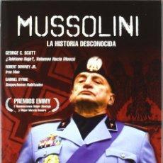 Series de TV: MUSOLINNI LA HISTORIA NUNCA CONTADA SERIE COMPLETA 3 DVDS NUEVO Y PRECINTADO DESCATALOGADO. Lote 175049395