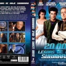 Series de TV: 20000 LEGUAS DE VIAJE SUBMARINO MINI SERIE COMPLETA 2 DVDS NUEVO Y PRECINTADO DESCATALOGADO. Lote 175051735