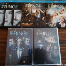 Series de TV: FRINGE TEMPORADAS 1-5 BLU-RAY Y DVD. Lote 178864173