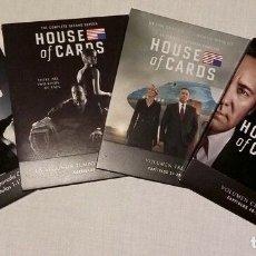 Series de TV: HOUSE OF CARDS: TEMPORADAS 1-4 BLU-RAY. Lote 178950502