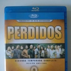 Series de TV: SERIE PERDIDOS (LOST) FULL BLU RAY 2ª TEMPORADA. Lote 181318713